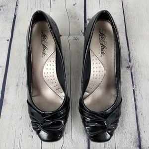 LIFE STRIDE | Gal Pal wedge heel patent shoe